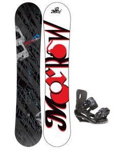 Morrow Fury Snowboard 151 w/ Sapient Fusion Snowboard Bindings