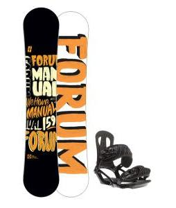 Forum Manual Snowboard 159 w/ Head NX One Snowboard Bindings