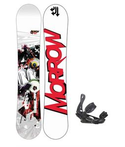 Morrow Radium Wide Snowboard 163 w/ Sapient Stash Snowboard Bindings