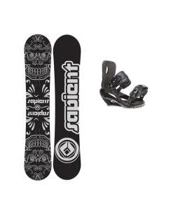 Sapient Outlaw Snowboard 150 2014 w/ Sapient Wisdom Snowboard Bindings