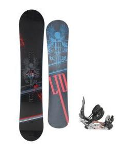 LTD Quest Snowboard 154 w/ Ride LX Snowboard Bindings
