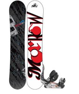 Morrow Fury Snowboard 155 w/ Ride LX Snowboard Bindings