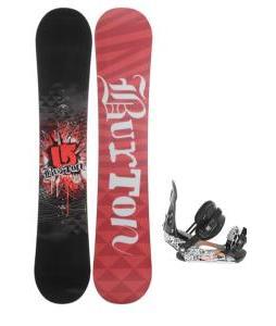 Burton Verdict Snowboard w/ Ride LX Snowboard Bindings