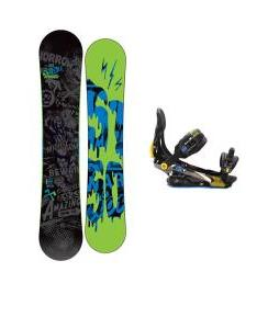 5150 Movement Snowboard 155 w/ Rome S90 Snowboard Bindings