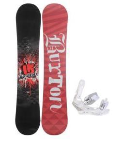 Burton Verdict Snowboard w/ Burton Triad Snowboard Bindings