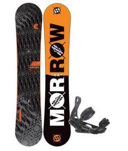 Morrow Clutch Snowboard 158 w/ Burton P1.1 Snowboard Bindings