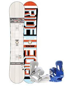 Ride Arcade UL Snowboard w/ Forum Faction Snowboard Bindings