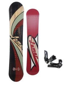 Lamar Blazer Snowboard 148 w/ Lamar MX30 Snowboard Bindings