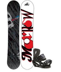 Morrow Fury Wide Snowboard 159 w/ Sapient Stash Snowboard Bindings