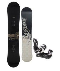 Rossignol Sultan Snowboard 150cm w/ LTD LT35 Snowboard Bindings