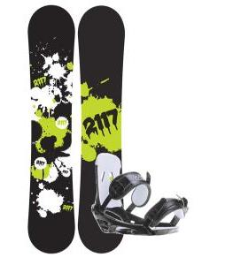 2117 Of Sweden Identity Snowboard 152 2014 w/ 2118 Of Sweden Storm Snowboard Bindings 2014