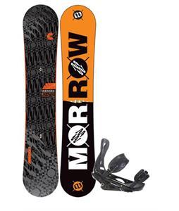 Morrow Clutch Snowboard 155 w/ Burton P1.1 Snowboard Bindings