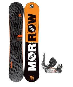 Morrow Clutch Snowboard 155 w/ Ride LX Snowboard Bindings