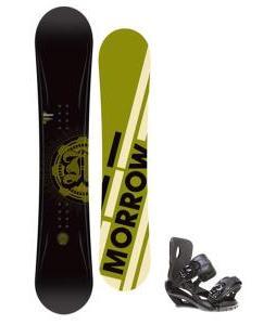Morrow Radium Snowboard 151 w/ Sapient Fusion Snowboard Bindings
