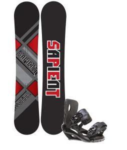 Sapient Future Snowboard 153 2014 w/ Sapient Fusion Snowboard Bindings
