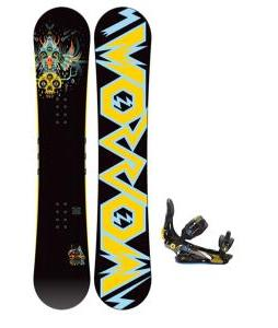Morrow Truth Snowboard 158 w/ Rome S90 Snowboard Bindings