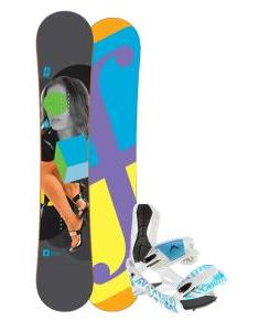 Forum Youngblood Doubledog Snowboard 152 w/ Lamar Wrap Snowboard Bindings