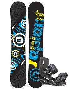 Sapient Cog Snowboard 161 2014 w/ Sapient Fusion Snowboard Bindings