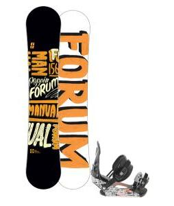 Forum Manual Snowboard 156 w/ Ride LX Snowboard Bindings