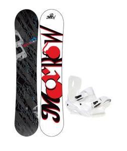 Morrow Fury Snowboard 151 w/ Sapient Zeus Snowboard Bindings