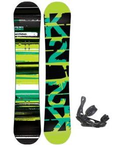 K2 Playback Snowboard w/ Burton P1.1 Snowboard Bindings