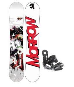 Morrow Fury Wide Snowboard 159 w/ Sapient Wisdom Snowboard Bindings
