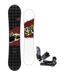 Rossignol Contrast Snowboard 155 w/ Lamar MX30 Snowboard Bindings