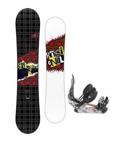 Rossignol Contrast Snowboard 150 w/ Ride LX Snowboard Bindings