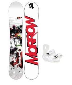 Morrow Radium Wide Snowboard 159 w/ Sapient Zeus Snowboard Bindings