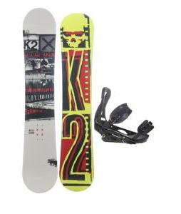 K2 Brigade Wide Snowboard w/ Burton P1.1 Snowboard Bindings