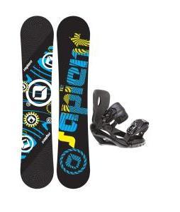Sapient Cog Snowboard 161 2014 w/ Sapient Wisdom Snowboard Bindings