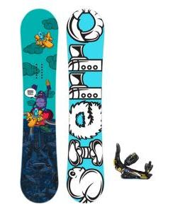 Sierra Stunt Snowboard One forty seven with Rome S Ninety snowboard Bindings