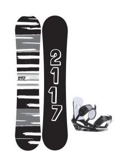 2117 Of Sweden Fader Snowboard 151 2014 w/ 2118 Of Sweden Storm Snowboard Bindings 2014
