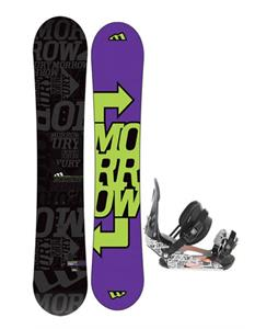 Morrow Fury Snowboard 163 w/ Ride LX Snowboard Bindings