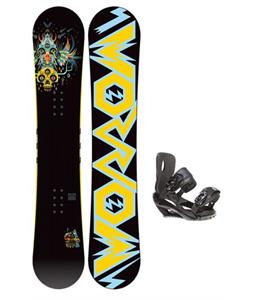 Morrow Truth Snowboard 155 w/ Sapient Wisdom Snowboard Bindings