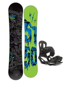 5150 Movement Snowboard 161 w/ Head NX One Snowboard Bindings