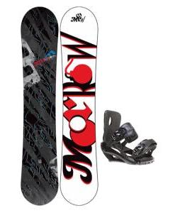 Morrow Fury Snowboard 159 w/ Sapient Fusion Snowboard Bindings