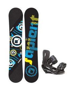 Sapient Cog Snowboard 148 2014 w/ Sapient Wisdom Snowboard Bindings