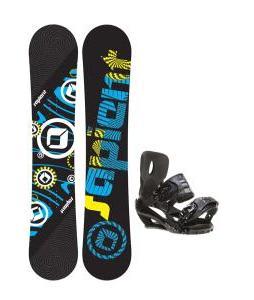 Sapient Cog Snowboard 148 2014 w/ Sapient Stash Snowboard Bindings