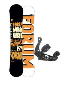 Forum Manual Snowboard 159 w/ Burton P1.1 Snowboard Bindings