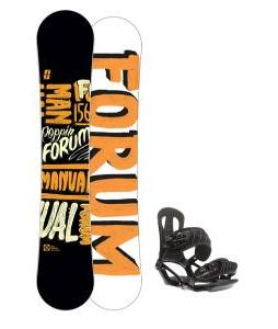 Forum Manual Snowboard 156 w/ Head NX One Snowboard Bindings