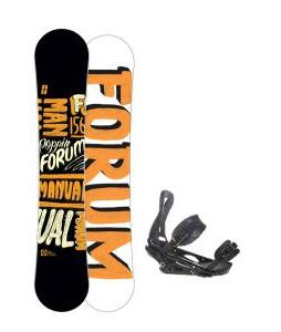 Forum Manual Snowboard 156 w/ Burton P1.1 Snowboard Bindings