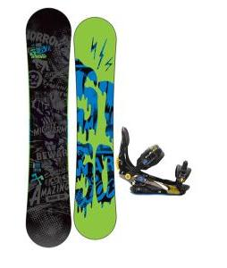 5150 Movement Snowboard 161 w/ Rome S90 Snowboard Bindings