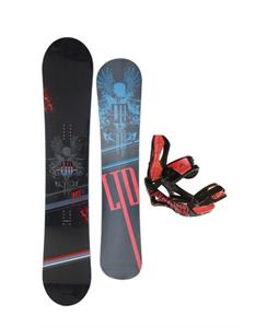 LTD Quest Snowboard 154 w/ Lamar Wrap Snowboard Bindings