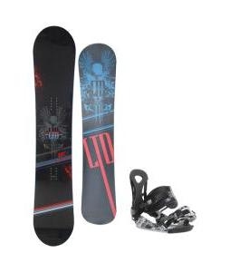 LTD Quest Snowboard 157 w/ Ride LX Snowboard Bindings