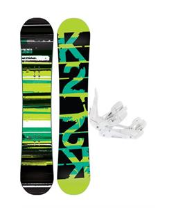 K2 Playback Snowboard w/ Ride EX Snowboard Bindings