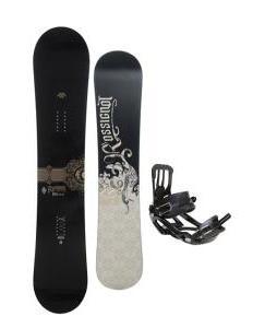 Rossignol Sultan Snowboard 150cm w/ Salomon Pact Snowboard Bindings