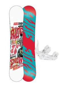 Ride Machete Snowboard w/ Ride EX Snowboard Bindings