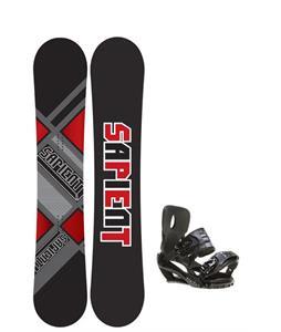 Sapient Future Snowboard 150 2014 w/ Sapient Stash Snowboard Bindings