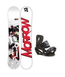 Morrow Radium Snowboard 151 w/ Sapient Stash Snowboard Bindings